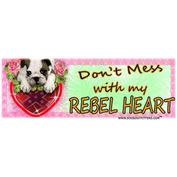 Don't Mess With My Rebel Heart Coffee Mug by Dixie Outfitters®