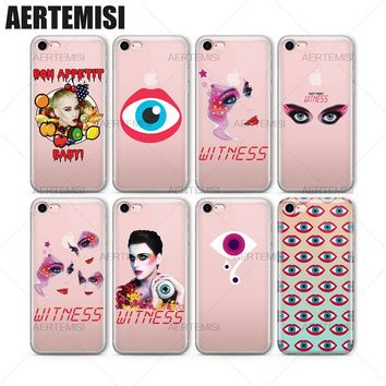 Katy Perry Witness Clear Soft TPU Case Cover for iPhone 5 5s SE 6 6s 7 Plus