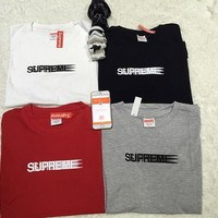 HCXX Supreme Motion Logo Tee Shirt Size S-XL Black White Grey Red