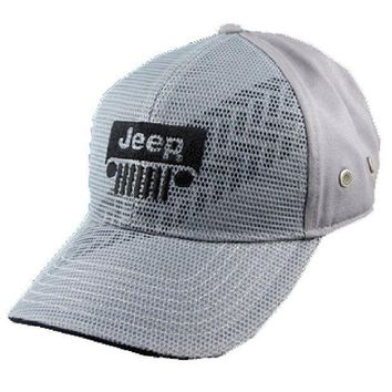 PEAPON3F Jeep Tire Tread Mesh Front Cap