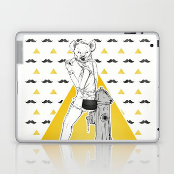 Fashion Girl Laptop & iPad Skin by MIKART