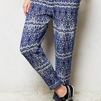 Jacquard Sweater Pants