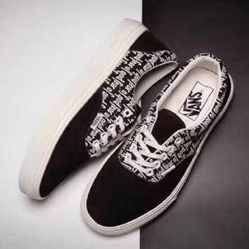 Fear of God x VANS Men and Women shoes