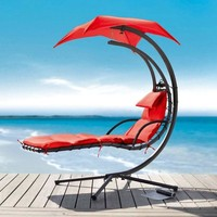 Renava Bahama - Modern Red Metal Dream Chair