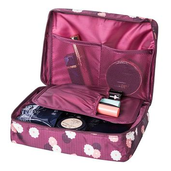 Women's Travel Cosmetic Organizer Beauty Bag