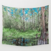Looking Down on the Sky Wall Tapestry by Gwendalyn Abrams