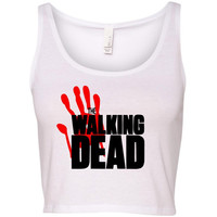 TurnTo Designs - THE WALKING DEAD XS/S inspired crop top
