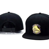 Perfect Golden State Warriors Women Men Embroidery Baseball Cap Hat Sports Sun Hat