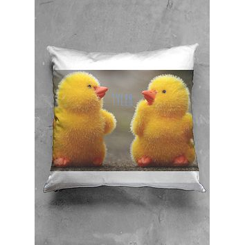 Duckie namesake pillow