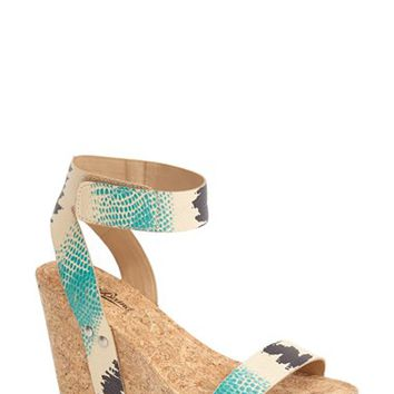 Women's Lucky Brand 'McDowell' Wedge Sandal,