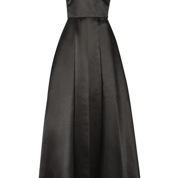 Alice + Olivia - Clarebelle layered duchesse-satin gown
