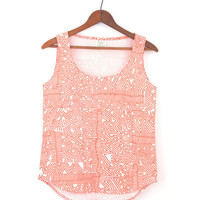 Gravel & Gold - Noiz Tank - Tomato - Mollusk Surf Shop