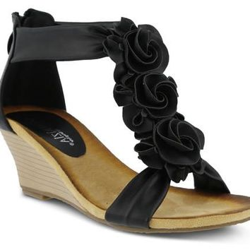 ONLINE EXCLUSIVE - Patrizia Harlequin Wedge Sandal from Patrizia Size 9.5