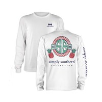 Palmetto Moon | Simply Southern Pineapple Long Sleeve T-shirt | Palmetto Moon