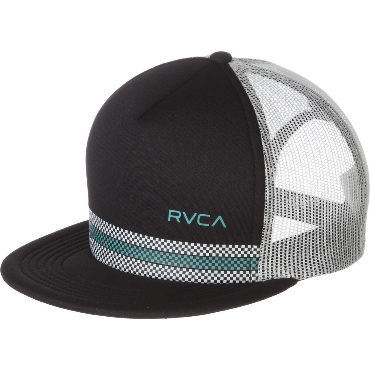 rvca draughts trucker hat from backcountry