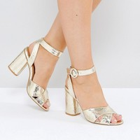Truffle Collection Block Heel Sandal at asos.com
