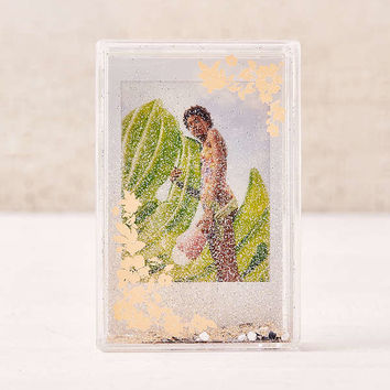 Mini Instax Floral Glitter Picture Frame | Urban Outfitters