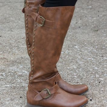 Walk The Line Studded Boots