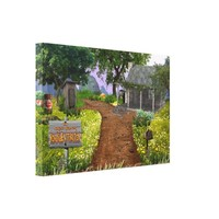 the world's greatest roadside attraction canvas print