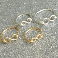 The Infinity Ring | Silvertone
