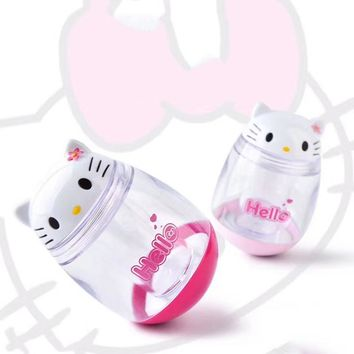 Cartoon Hello Kitty Tumbler Kitchen Spice Jar Cute Seasoning Box Multi-purpose Toothpick Holder Storage Boxes 2C