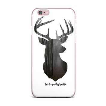 "Suzanne Carter ""The Road2"" Contemporary Nature iPhone Case"