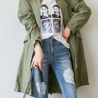 Perfect Daily Military Jacket