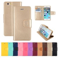 Customize Your Own Cell Phone Case Mercury Goospery Sonata Wallet Pu Leather Stand Case Tpu Cover With Card Slots For Iphone 5 6 6s Plus Samsung Galaxy S6 Edge Plus Note Note5 Discount Cell Phone Cases From Mxin, $1.89| Dhgate.Com