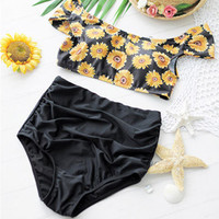 Sunflower High-Waist Bikini