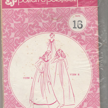 Patterns Pacifica Pattern 3066 Hawaii Long Muumuu Sleeveless Dress Size 16 Bust 38 Uncut Hawaiian Style Vintage Hula Festival Luau Fashion