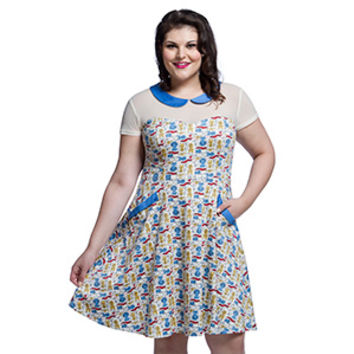 Star Trek Ships Mae Dress