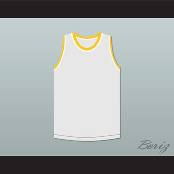 Bruce Leroy Green 85 The Last Dragon White with Red Graphics Jersey