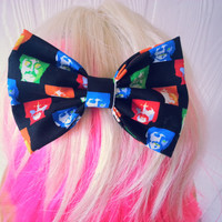 Hair bow / The beatles / The beatles hair bow / John lennon / Ringo Starr / Paul Mccartney / Hair clip / hair bow clip / music hair bow