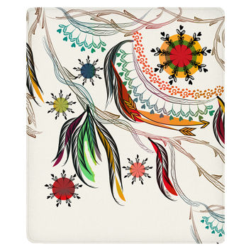 Bohemian Fleece Throw