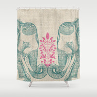 Together4ever Shower Curtain by rskinner1122