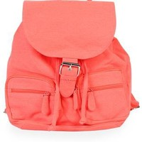 neon backpack with buckle - 1000048997 - debshops.com