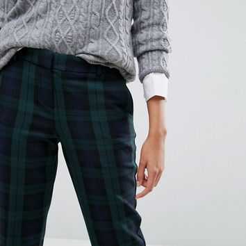 Jack Wills Tapered Check Trouser at asos.com
