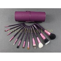 4 Optional colors Pro 12 Pcs Makeup Brush Set in Round High Quality Leather Case [BS-12 Round] - US$34.99 : Colorfulonline, Chinese Makeup wholesaler wholesale makeup-