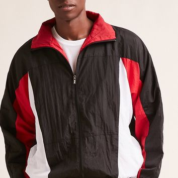 EPTM. Colorblock Windbreaker Jacket