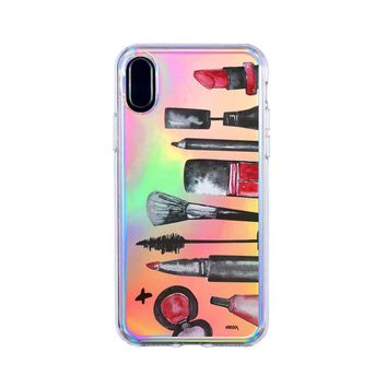 Holographic iPhone Case Cover - Glam