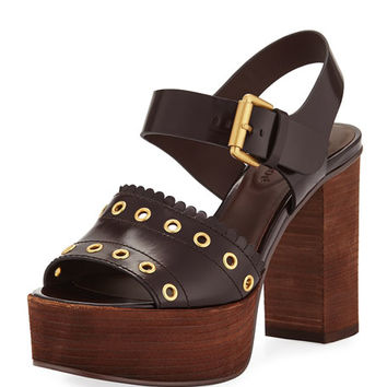 See by Chloe Nora Studded Platform Sandal