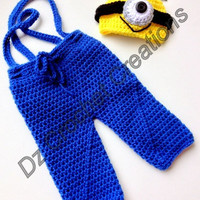 Crochet Minion Pant Set