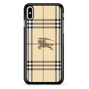 Burberry Logo 2 iPhone X Case