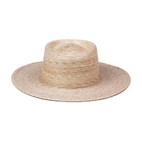 Palma Boater Hat (Natural)