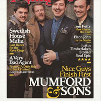 Mumford and Sons Rolling Stone Cover Poster 22x34