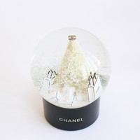 Chanel | Snow Globe Christmas Tree & Presents | Medium