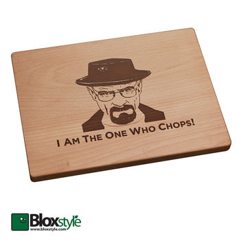 Breaking Bad Inspired, Heisenberg, I Am The One Who Chops Cutting Board, Heisenberg, Breaking Bad, Walter White, Breaking Bad Gift,