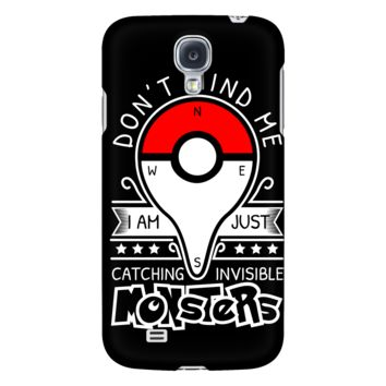 Pokemon dont mind me I am just here catching invisible monster Android Phone Case - TL00625AD