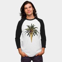 Coconut Ice Cream Baseball Tee By 83Oranges Design By Humans