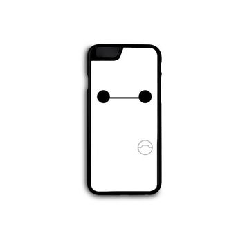 Big Hero 6 Six - NO Smile Baymax Phone Case for Galaxy S3/S4/S5 and iPhone 4/4s/5/5s/5c/6/6+ in Hard Plastic/Rubber